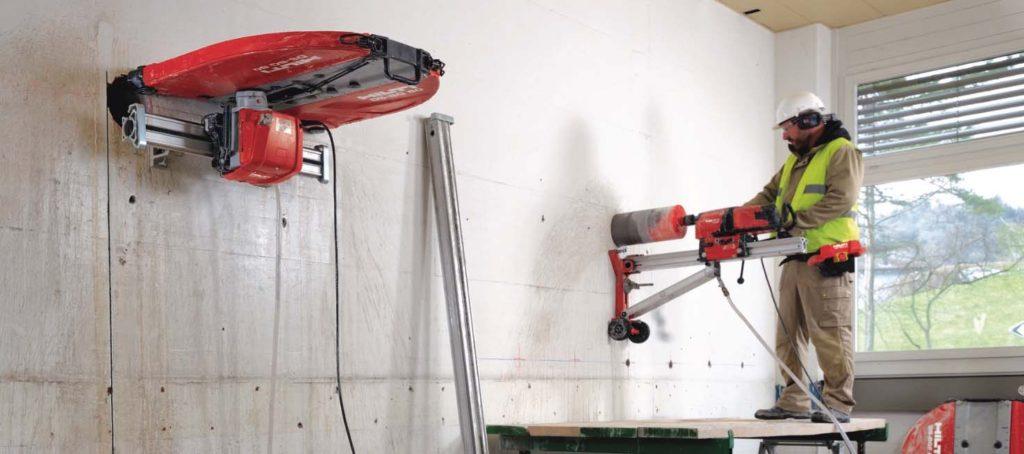 Jádrové vrtání a řezání betonu